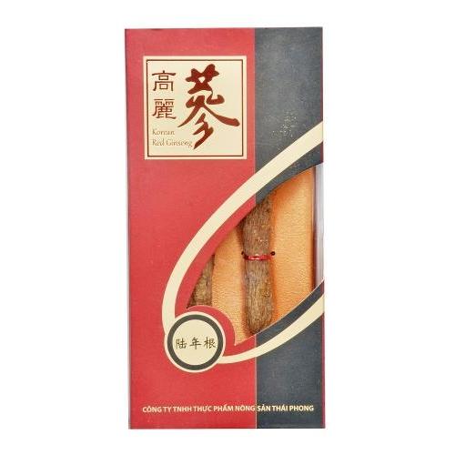 Hồng sâm nguyên củ 6 năm tuổi 55-56gr (111)-tăng lực, bổ phổi, an thần, phục hồi huyết áp